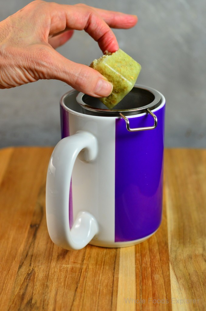 Ginger Cube in Drink